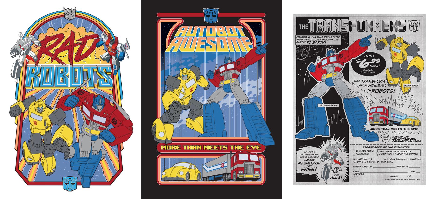 TF Gen 1: 1984 Arcade Style Guide Design - ID 3