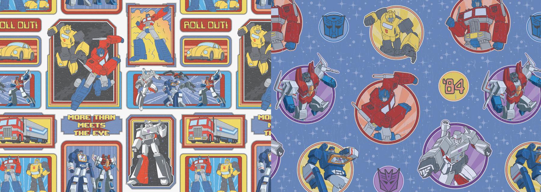 TF Gen 1: 1984 Arcade Style Guide Design - ID 4