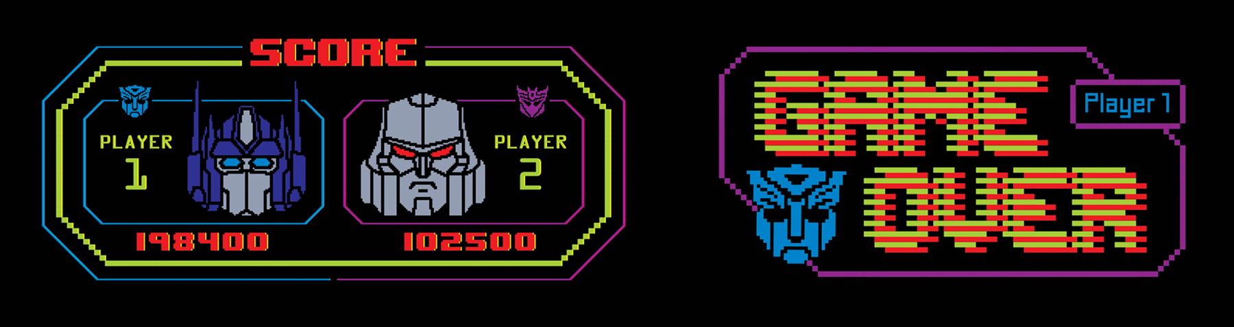 TF Gen 1: 1984 Arcade Style Guide Design - ID 5