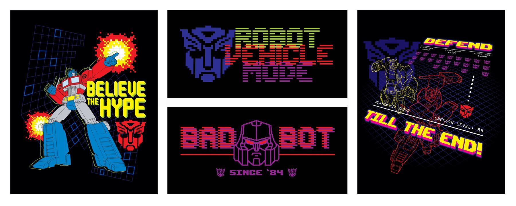 TF Gen 1: 1984 Arcade Style Guide Design - ID 6