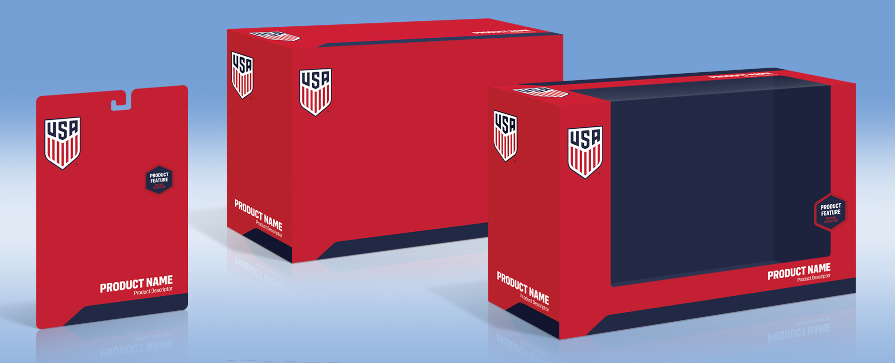 U.S. Soccer Packaging - Package 2