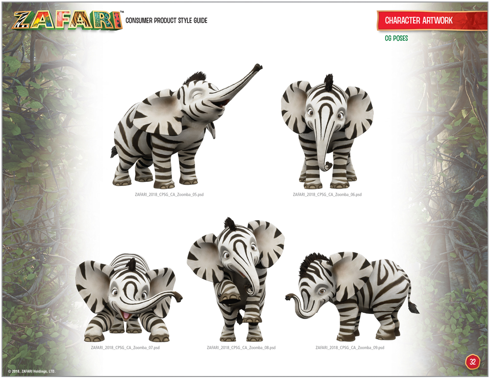 ZAFARI Style Guide - 14
