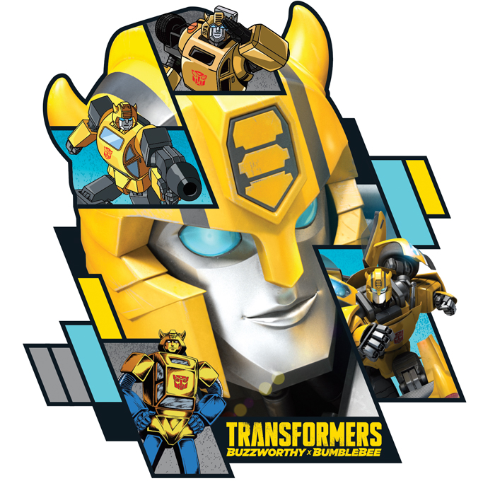 Transformers - Bumblebee Target Exclusive Style Guide - Panel 1