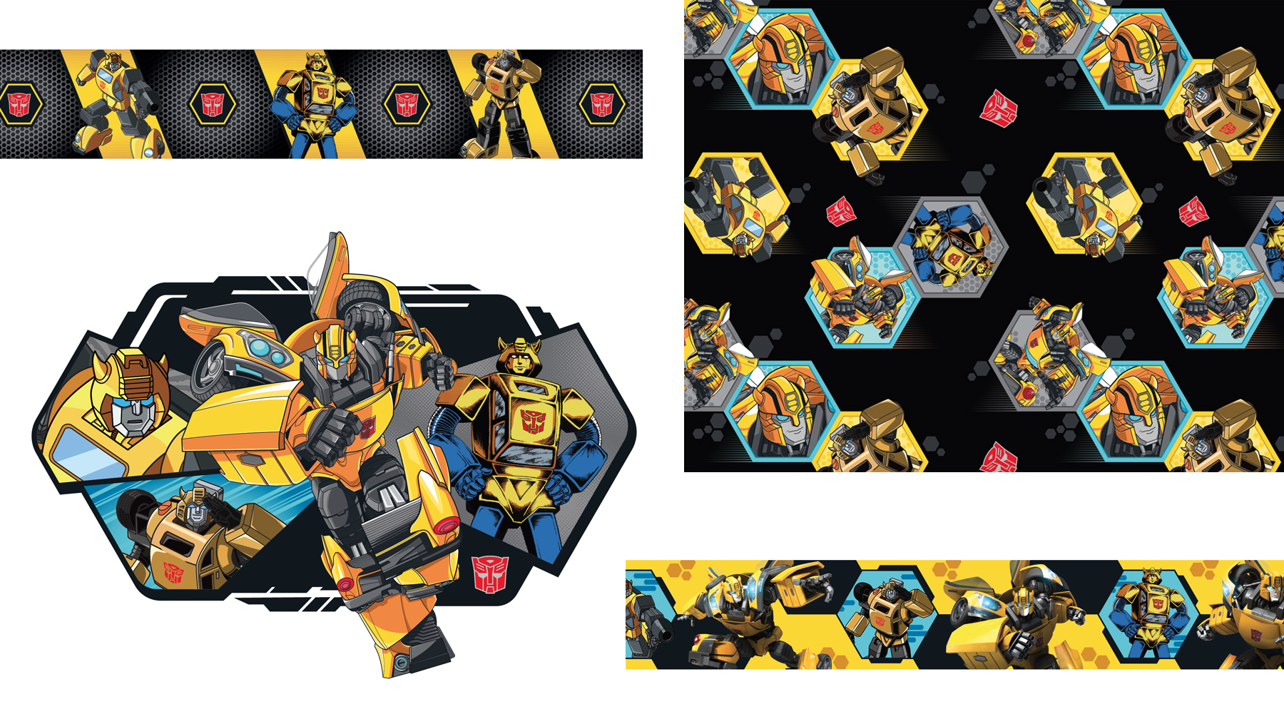 Transformers - Bumblebee Target Exclusive Style Guide - Panel 2