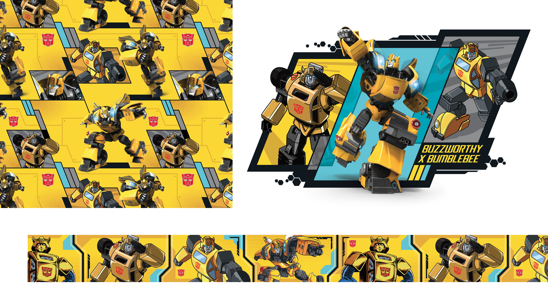 Transformers - Bumblebee Target Exclusive Style Guide - Panel 3