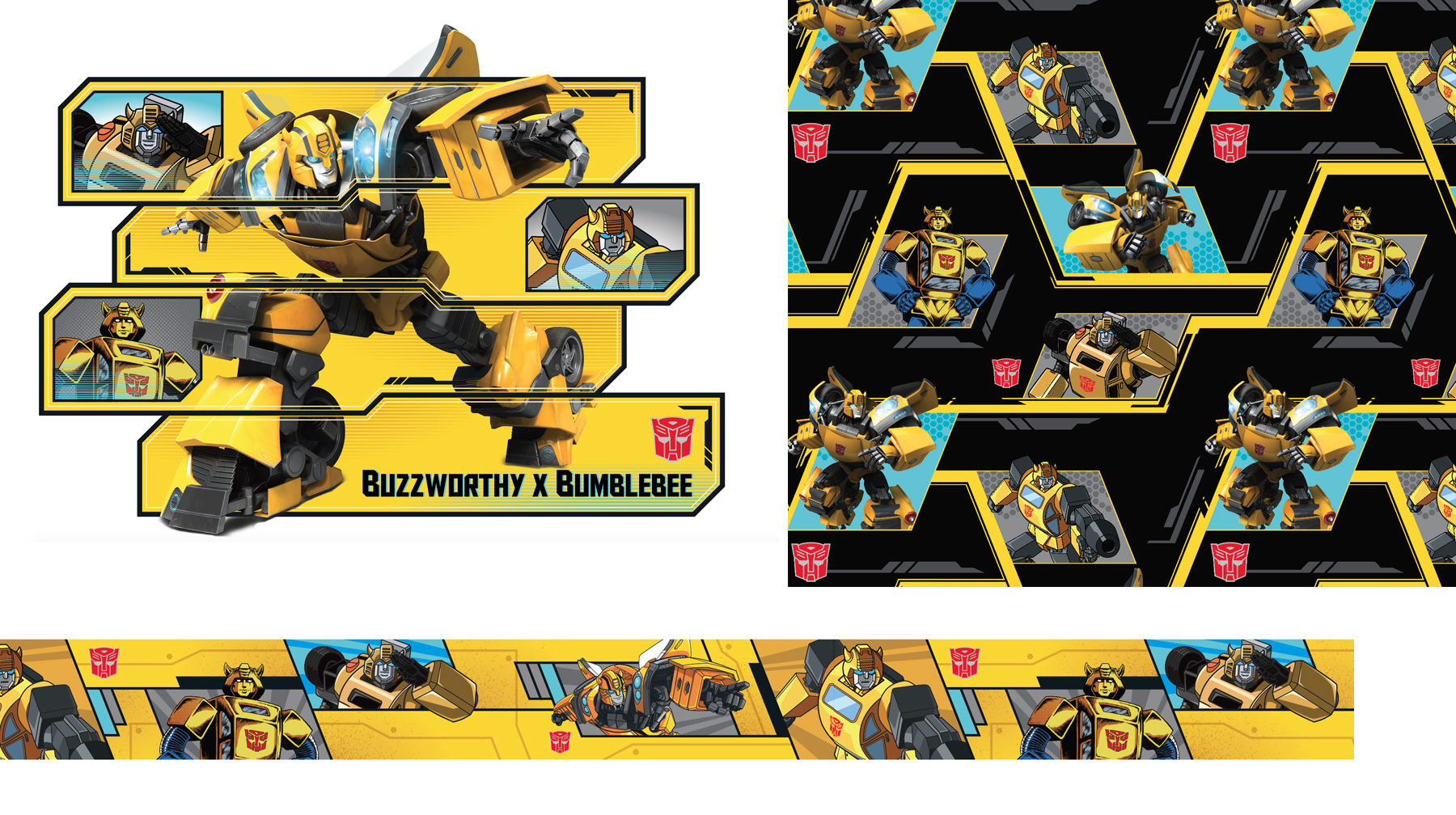 Transformers - Bumblebee Target Exclusive Style Guide - Panel 4