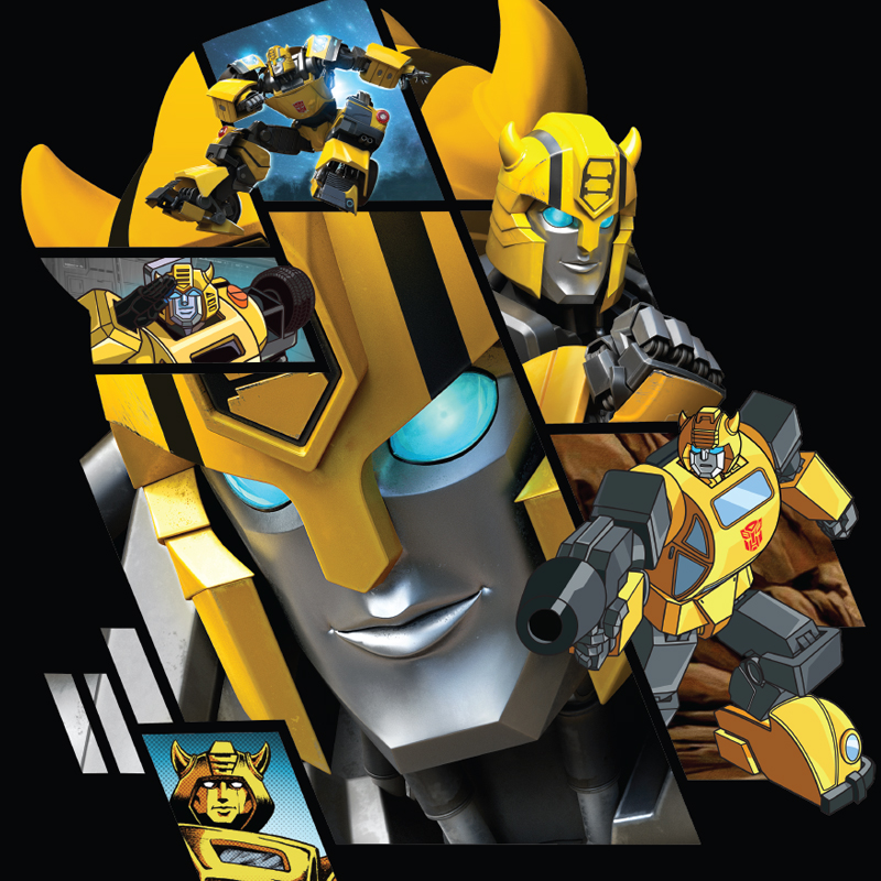 Transformers - Bumblebee Target Exclusive Style Guide - Portfolio