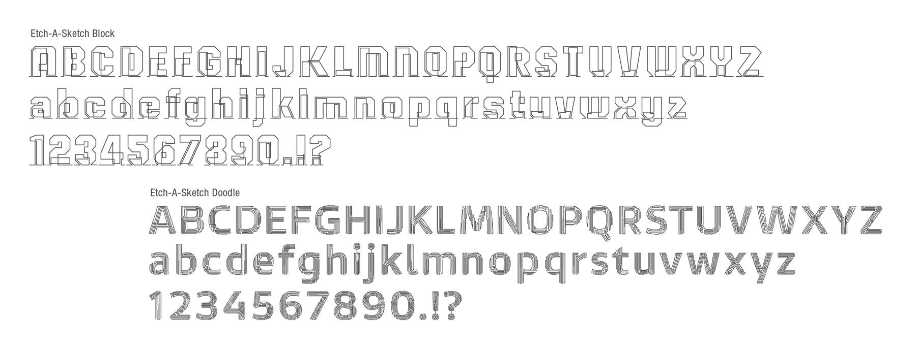 Etch-A-Sketch Style Guide Design - Panel 4