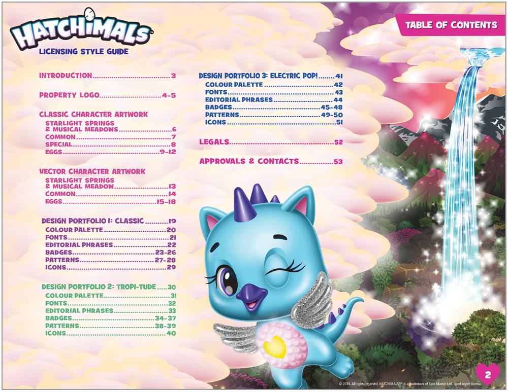 Hatchimals Style Guide - 2
