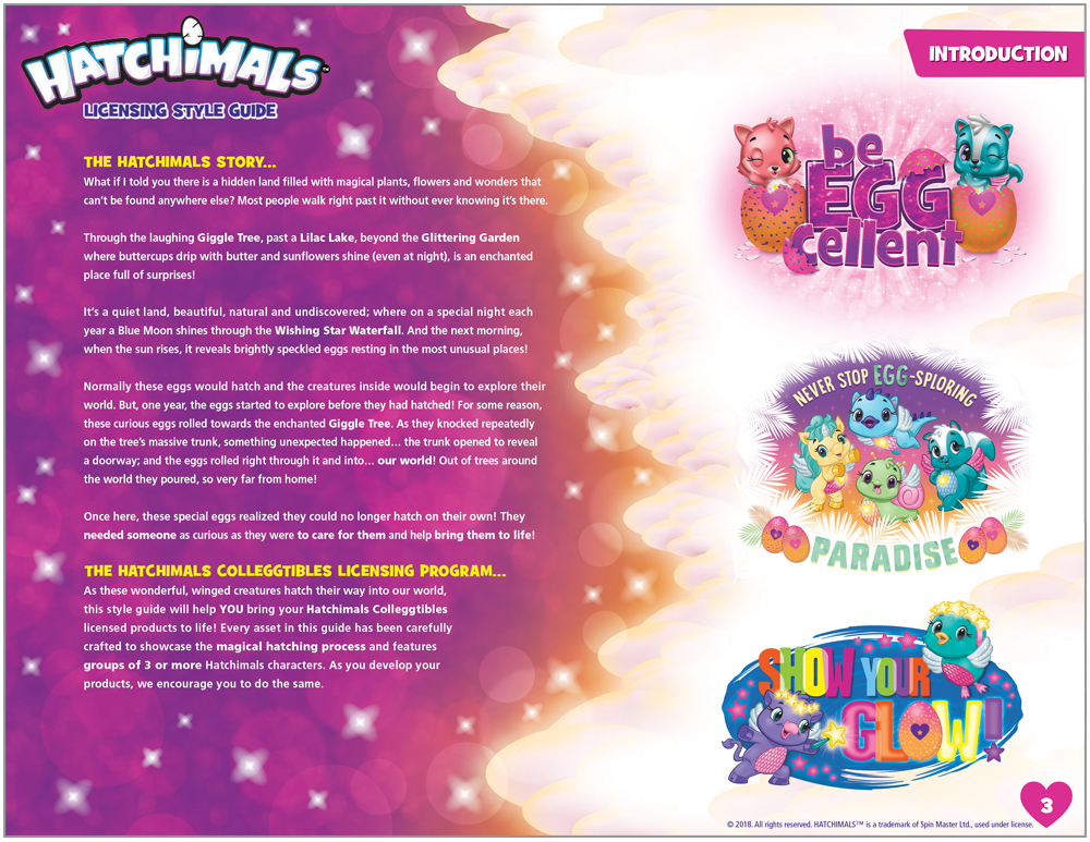 Hatchimals Style Guide - 3