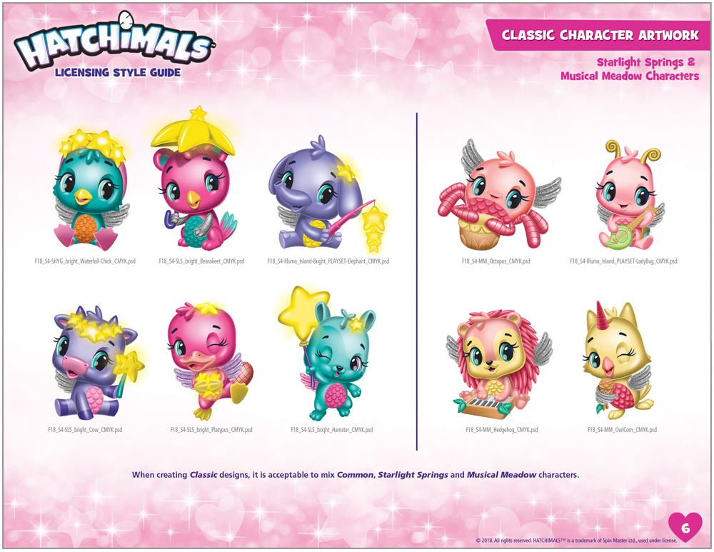 Hatchimals Style Guide - 4