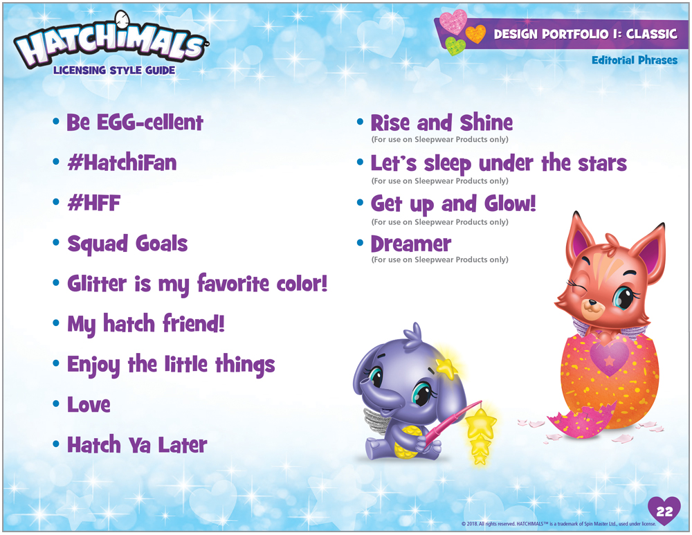 Hatchimals Style Guide - 7