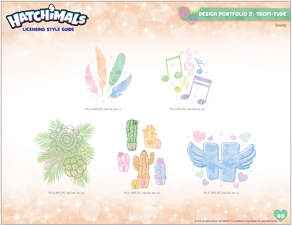 Hatchimals Style Guide - 11