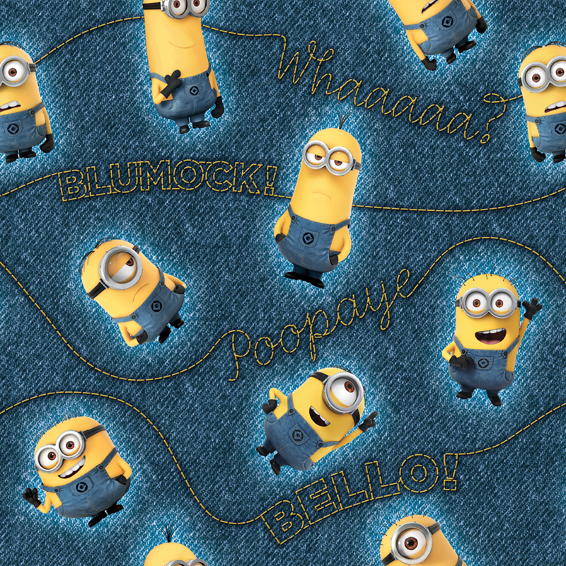 Minions Character Pattern Style Guide Design - Portfolio