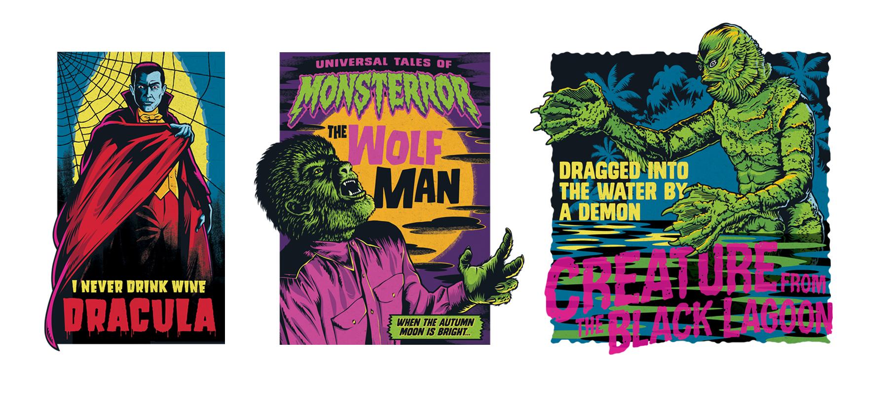 Monsterror Style Guide Design - Panel 7