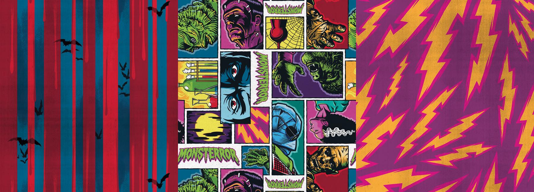 Monsterror Style Guide Design - Panel 8