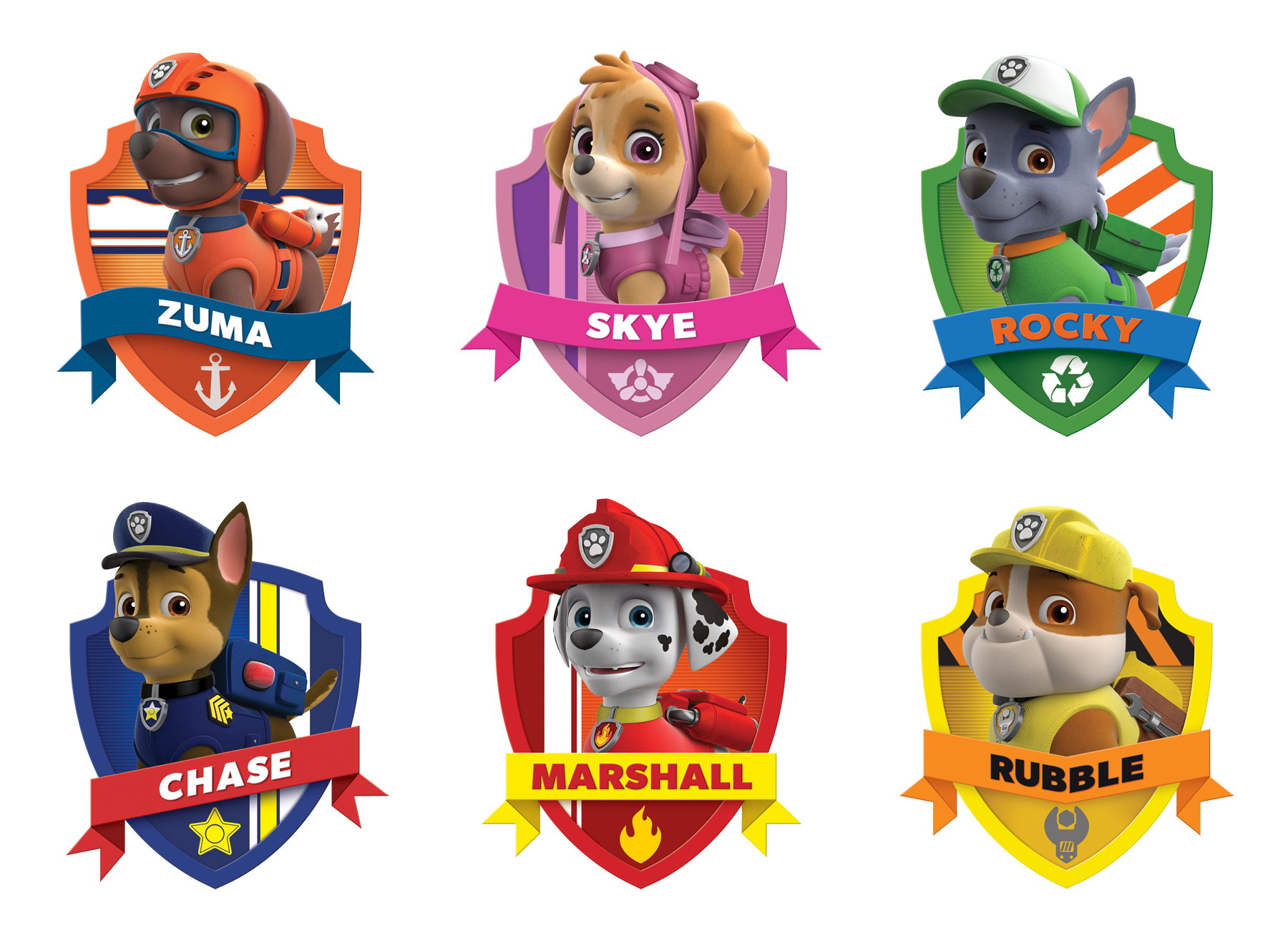 Paw Patrol Style Guide Design - Thumb 5