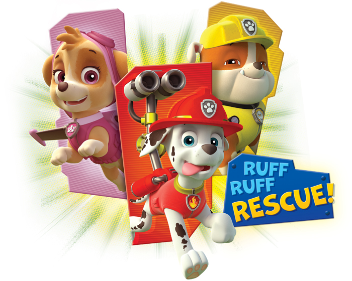 Paw Patrol Style Guide Design - Thumb 1