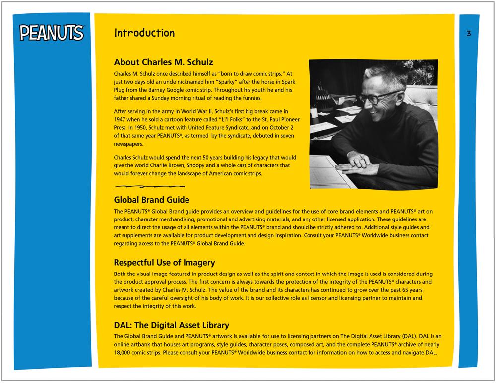 Peanuts Global Brand Guide 3