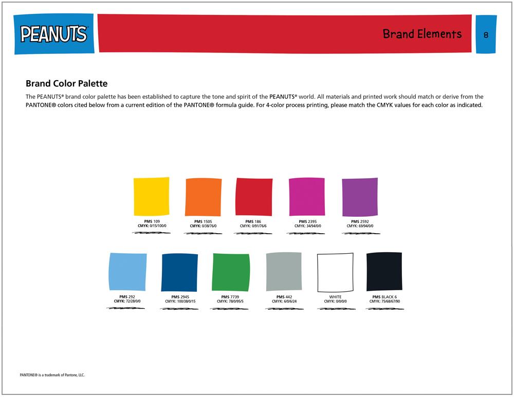 Peanuts Global Brand Guide 5