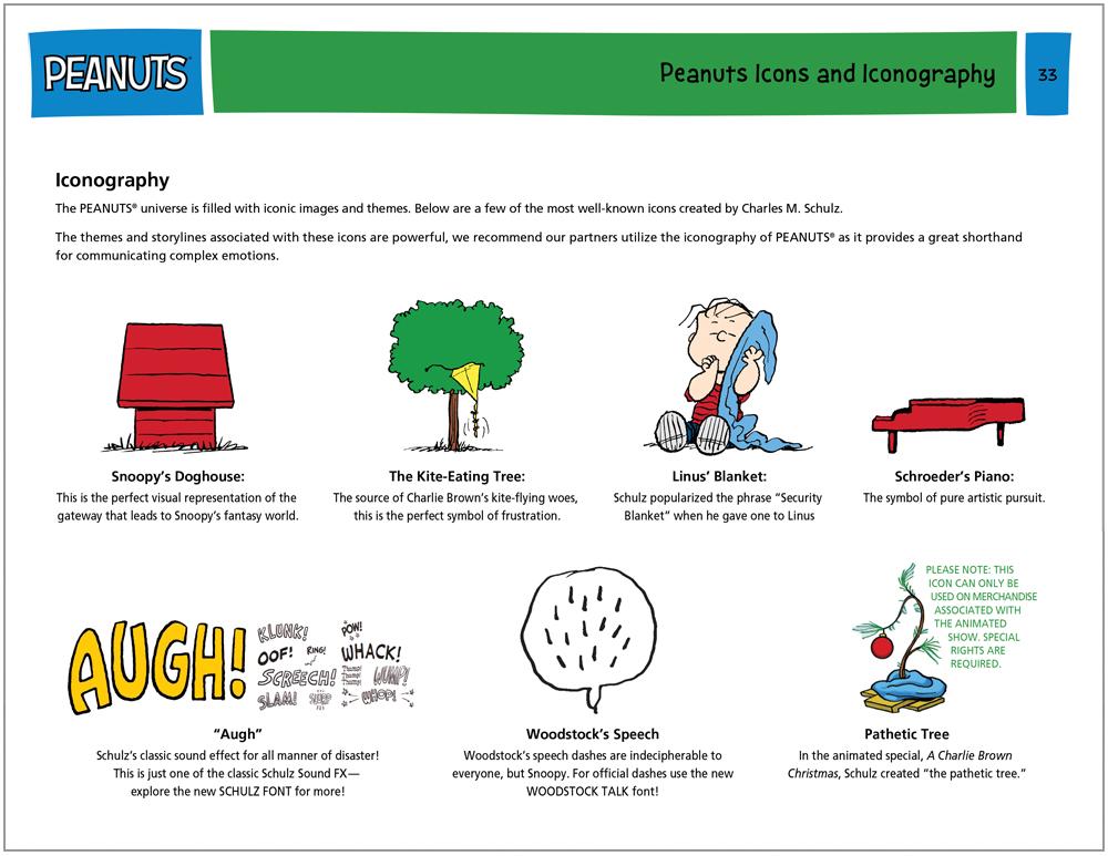 Peanuts Global Brand Guide 15