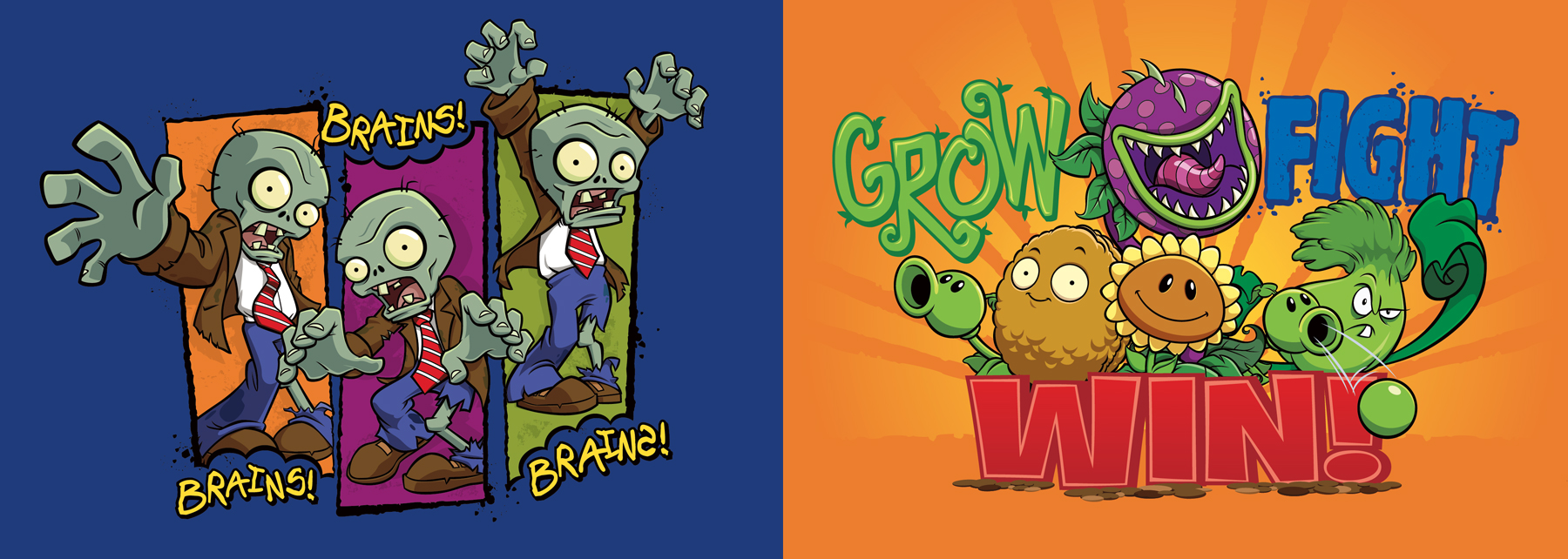 Plants vs. Zombies Style Guide Design - Thumb 2
