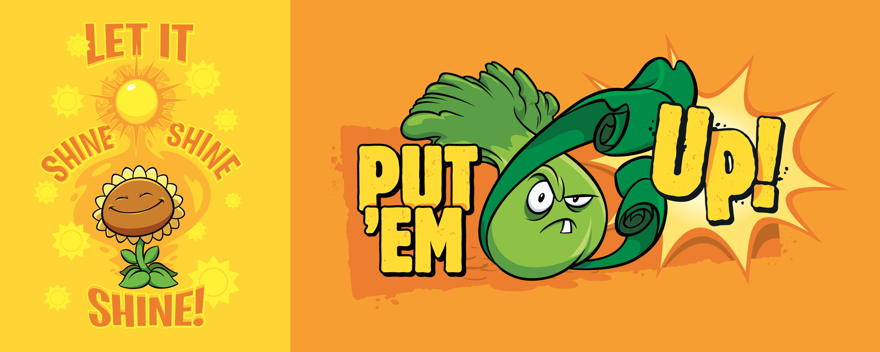 Plants vs. Zombies Style Guide Design - Thumb 6