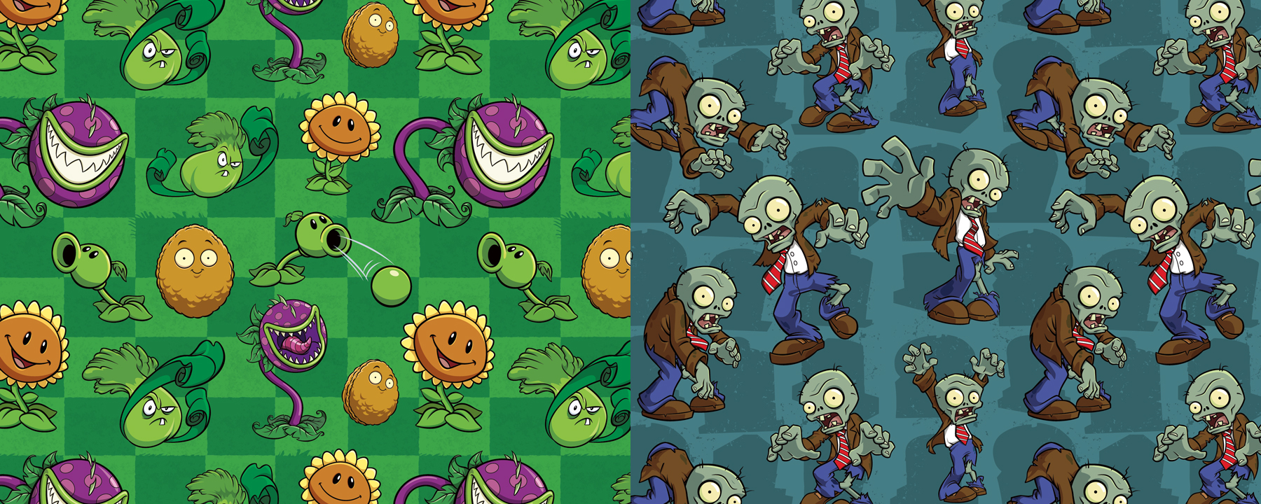 Plants vs. Zombies Style Guide Design - Thumb 7
