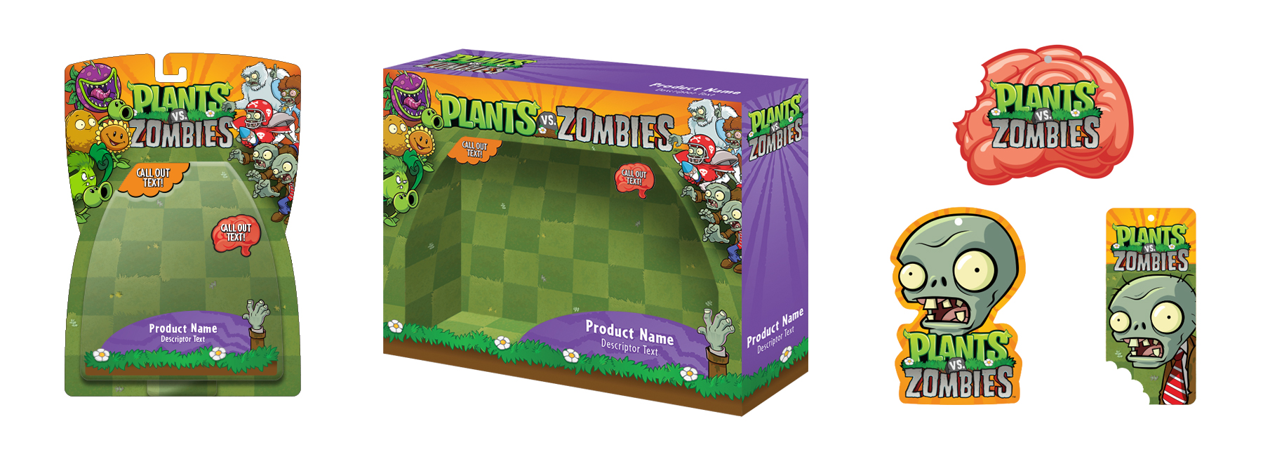 Plants vs. Zombies Style Guide Design - Thumb 9