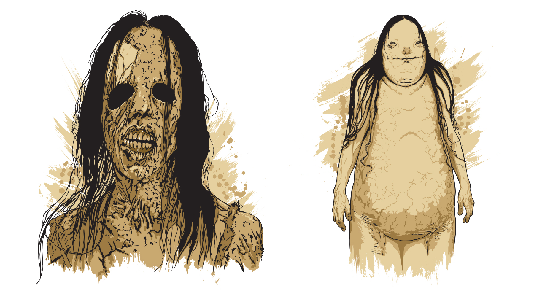 Scary Stories to Tell in the Dark Character Artwork - Artwork 2