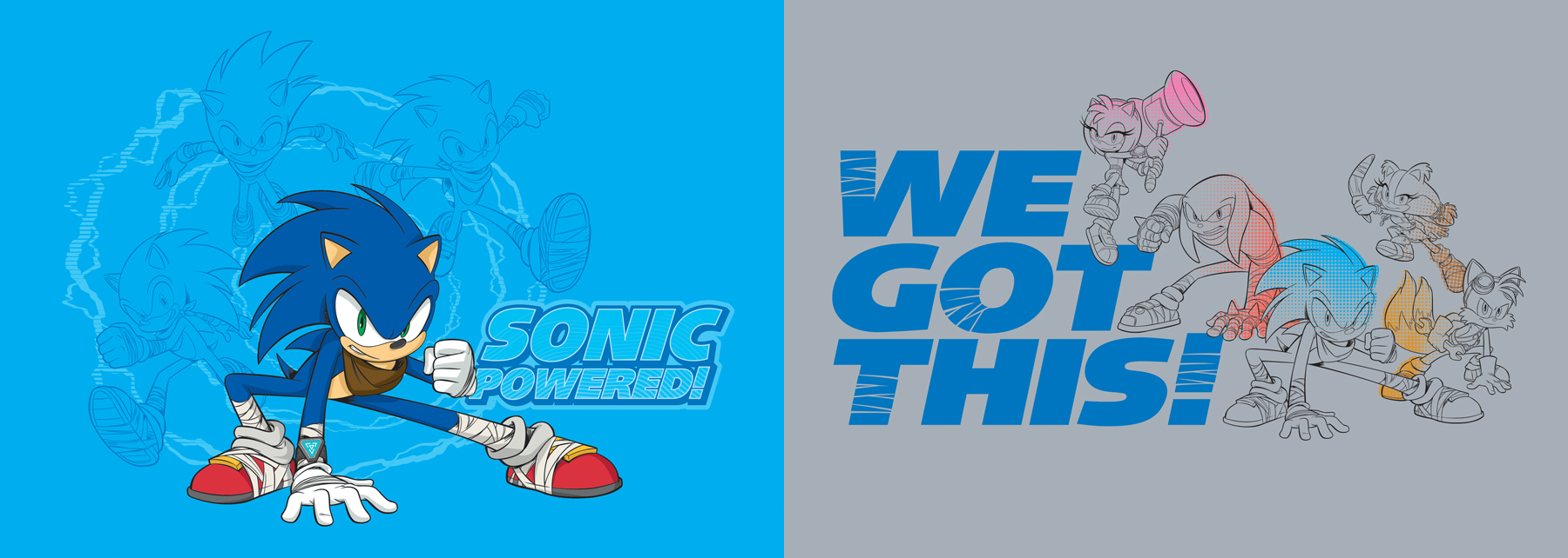Sonic Boom Vector Style Guide Design - Feature 2