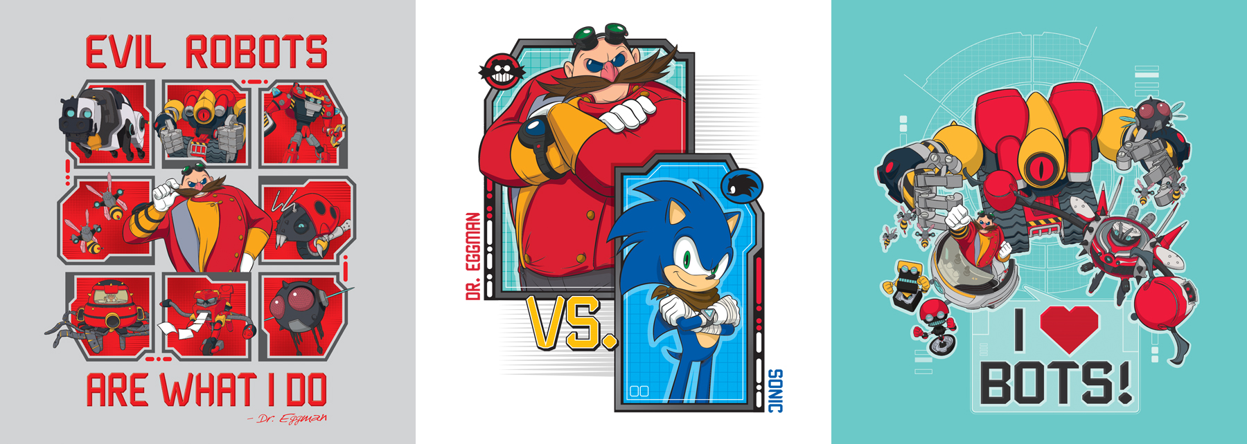 Sonic Boom Vector Style Guide Design - Feature 3