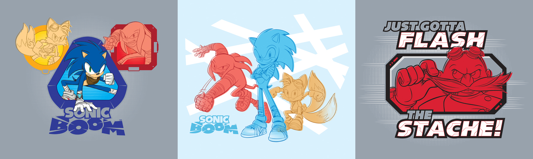 Sonic Boom Vector Style Guide Design - Feature 4
