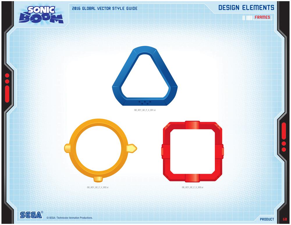 Sonic Boom Vector Style Guide Design 7