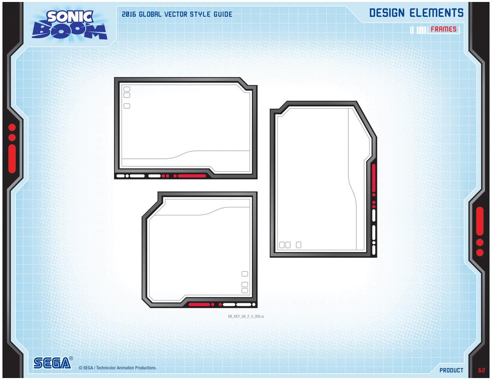 Sonic Boom Vector Style Guide Design 8