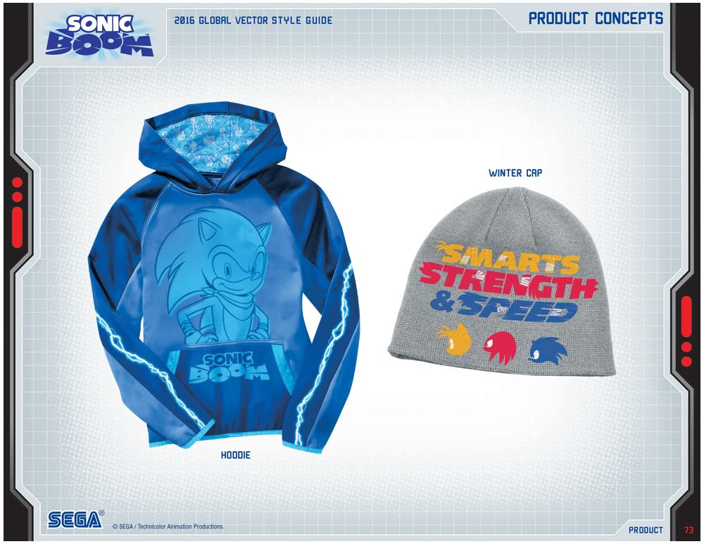 Sonic Boom Vector Style Guide Design 10