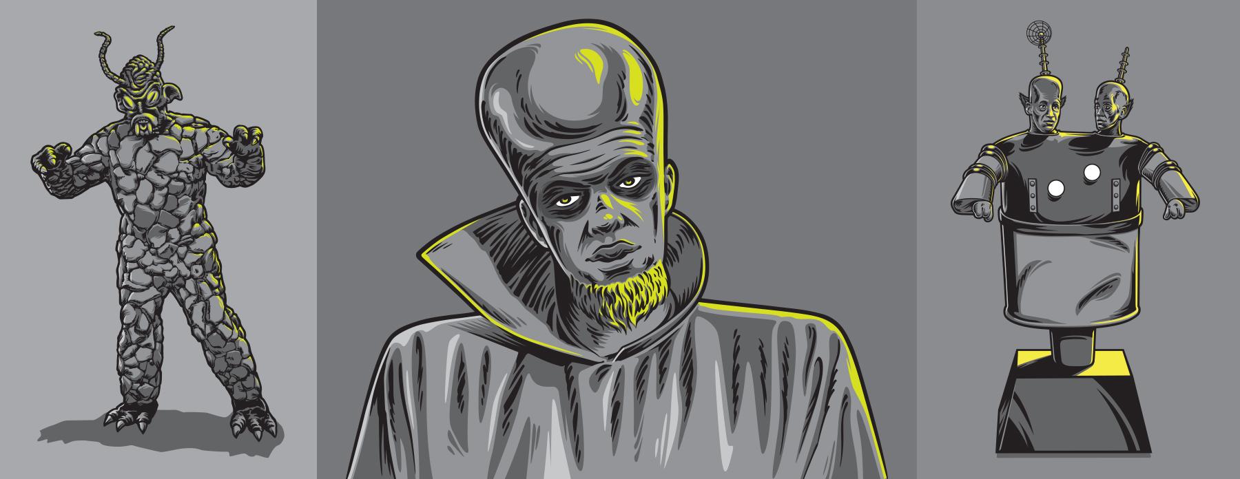 The Twilight Zone Illustrations - ID 2