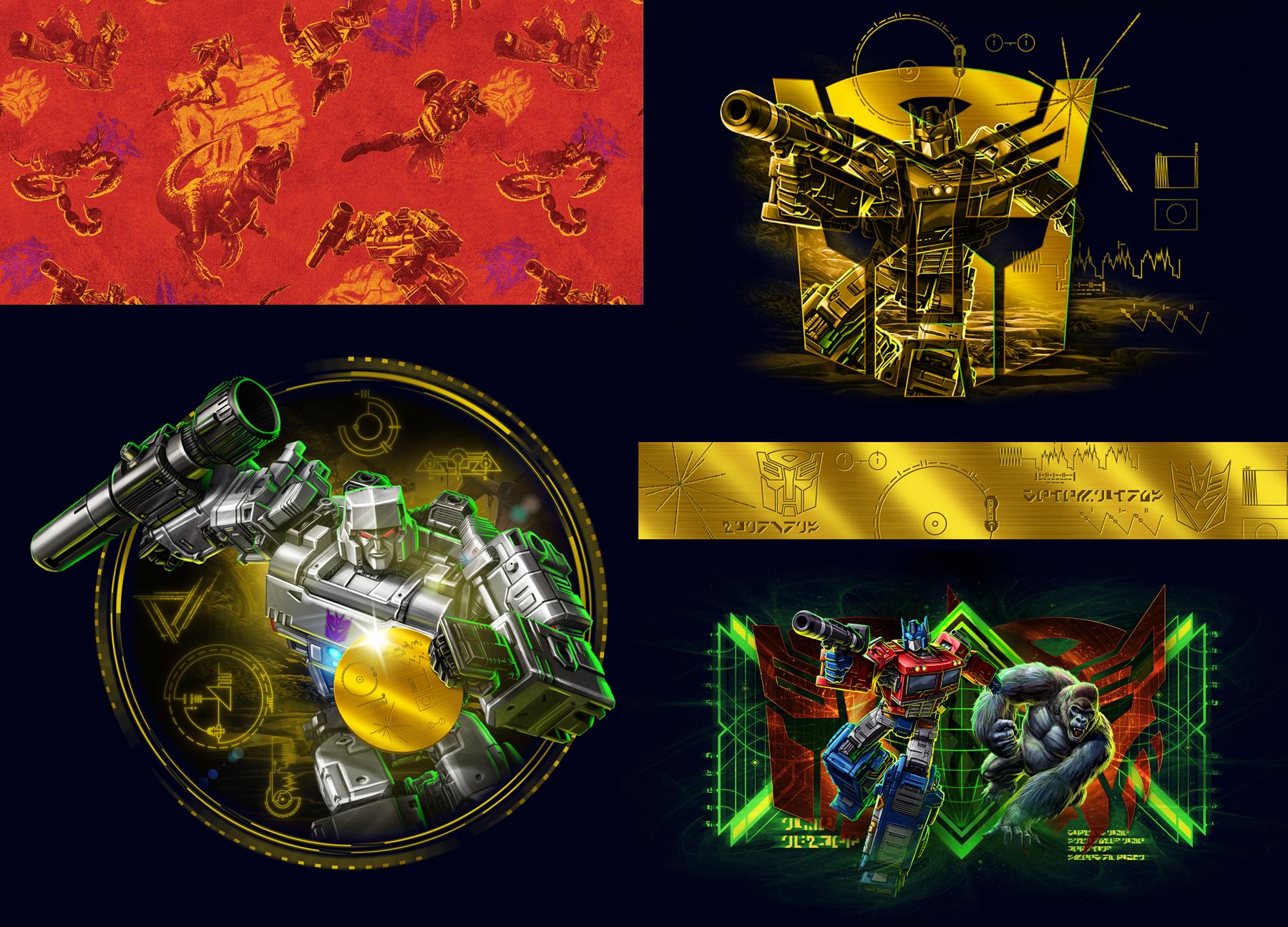 Transformers Kingdom Design 02