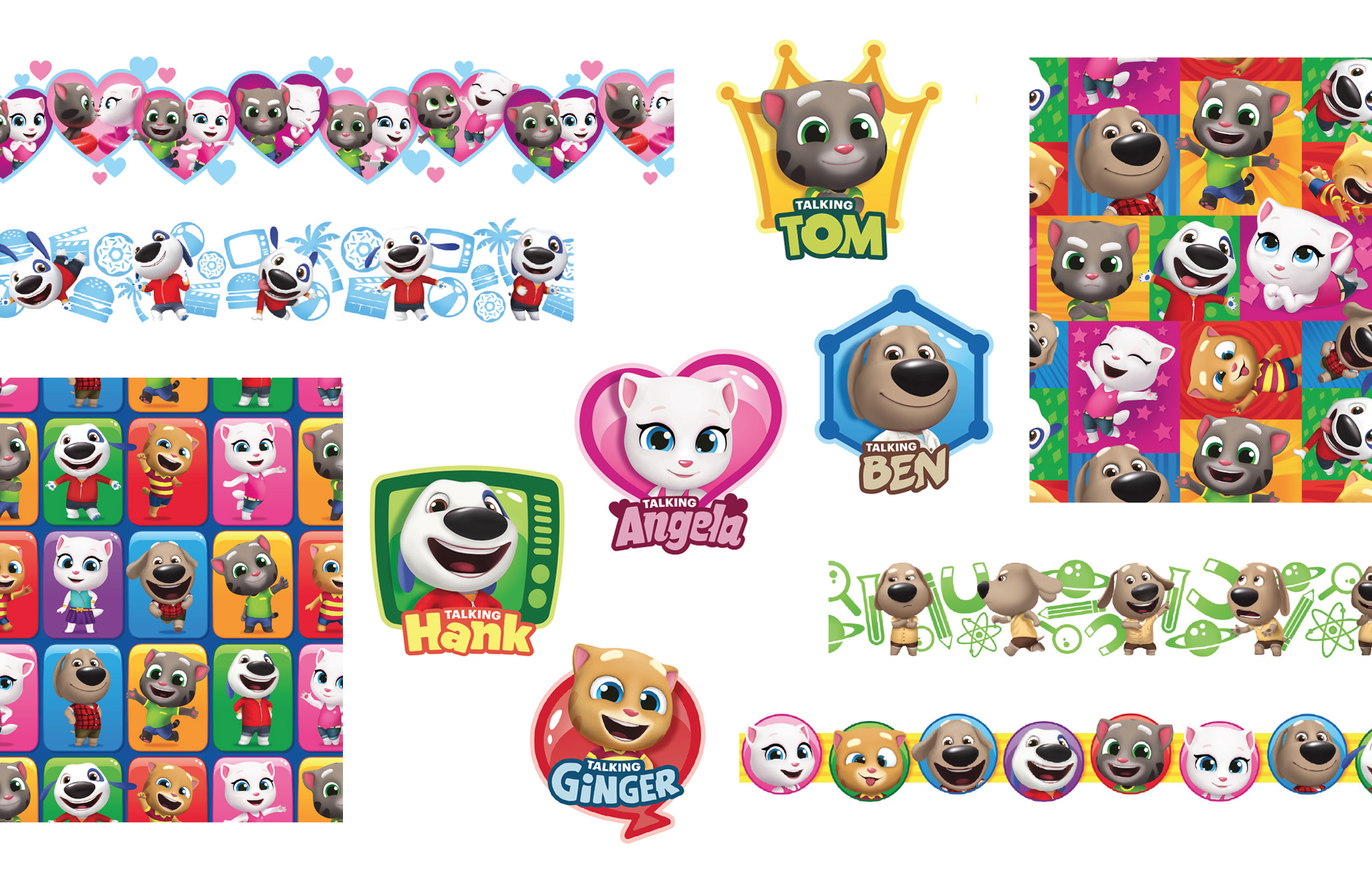 Talking Tom and Friends 3D Mini Style Guide - Panel 4