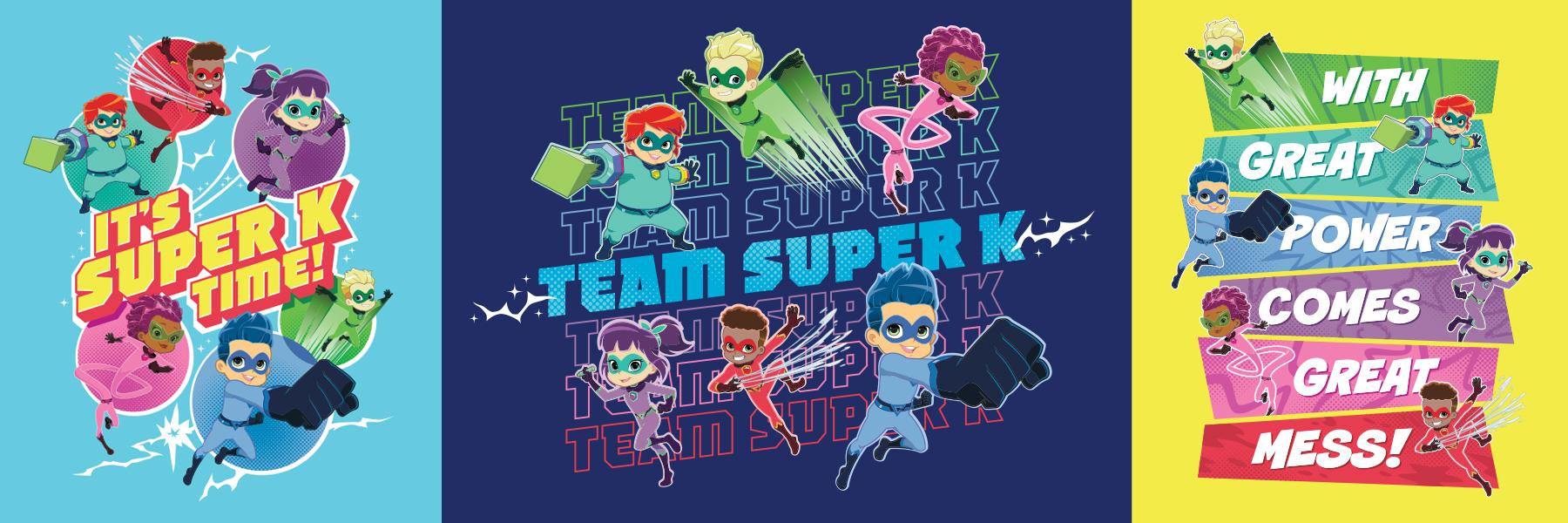 Stan Lee's Superhero Kindergarten Style Guide - Panel 2