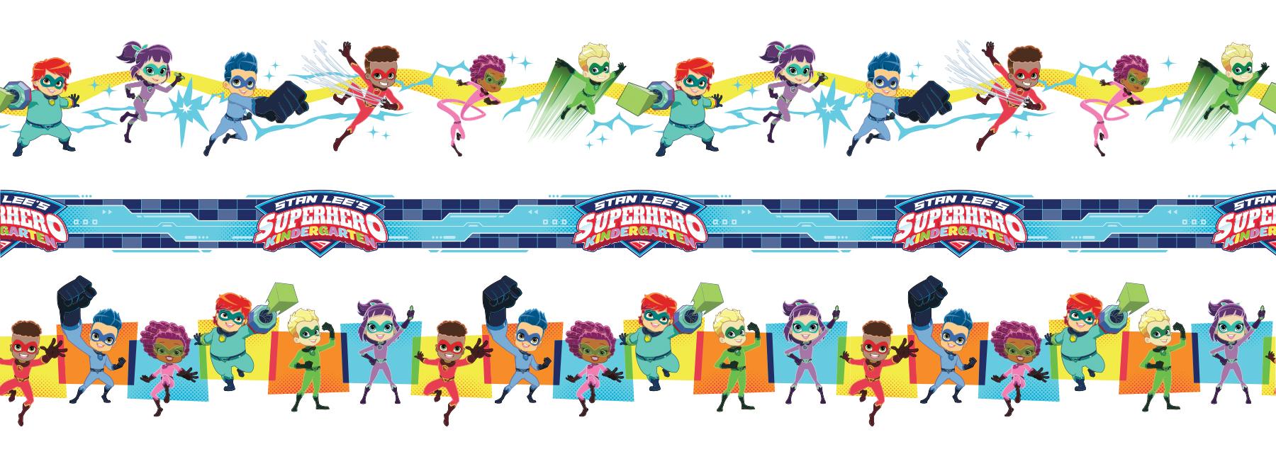 Stan Lee's Superhero Kindergarten Style Guide - Panel 4