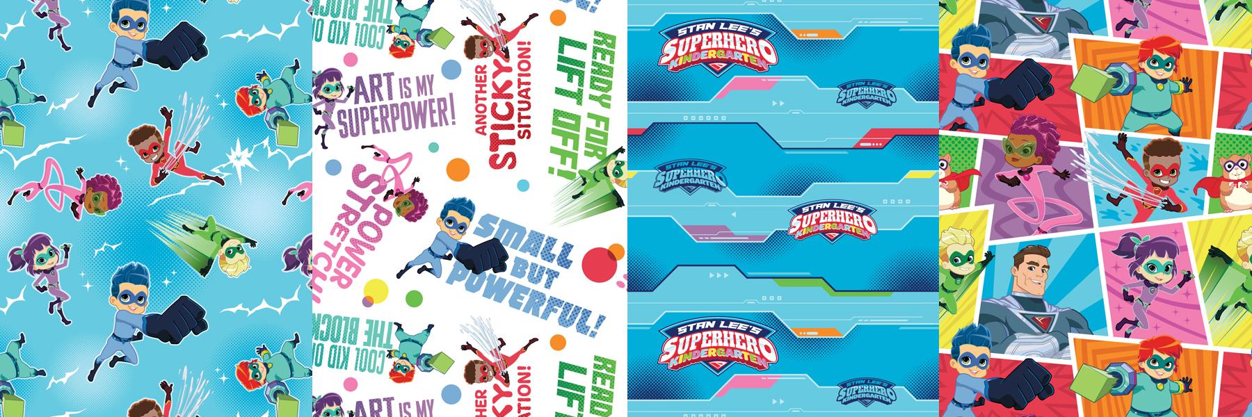 Stan Lee's Superhero Kindergarten Style Guide - Panel 5