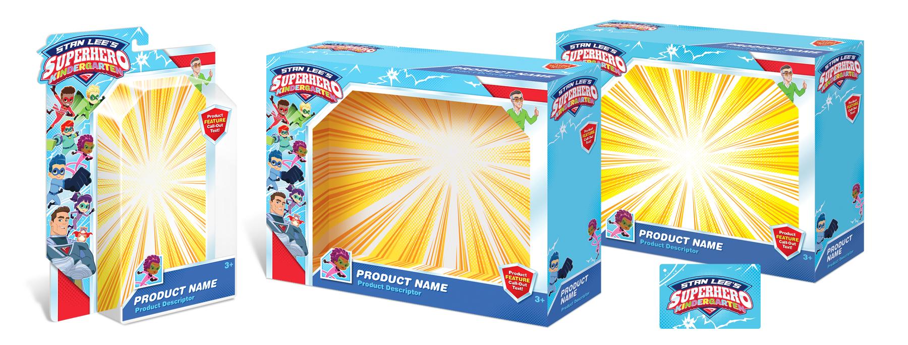 Stan Lee's Superhero Kindergarten Style Guide - Panel 8
