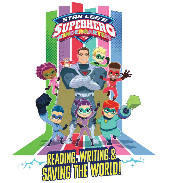 Stan Lee's Superhero Kindergarten Style Guide - Panel 1