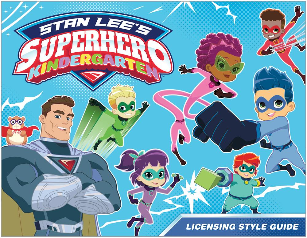 Stan Lee's Superhero Kindergarten Style Guide - Page 1