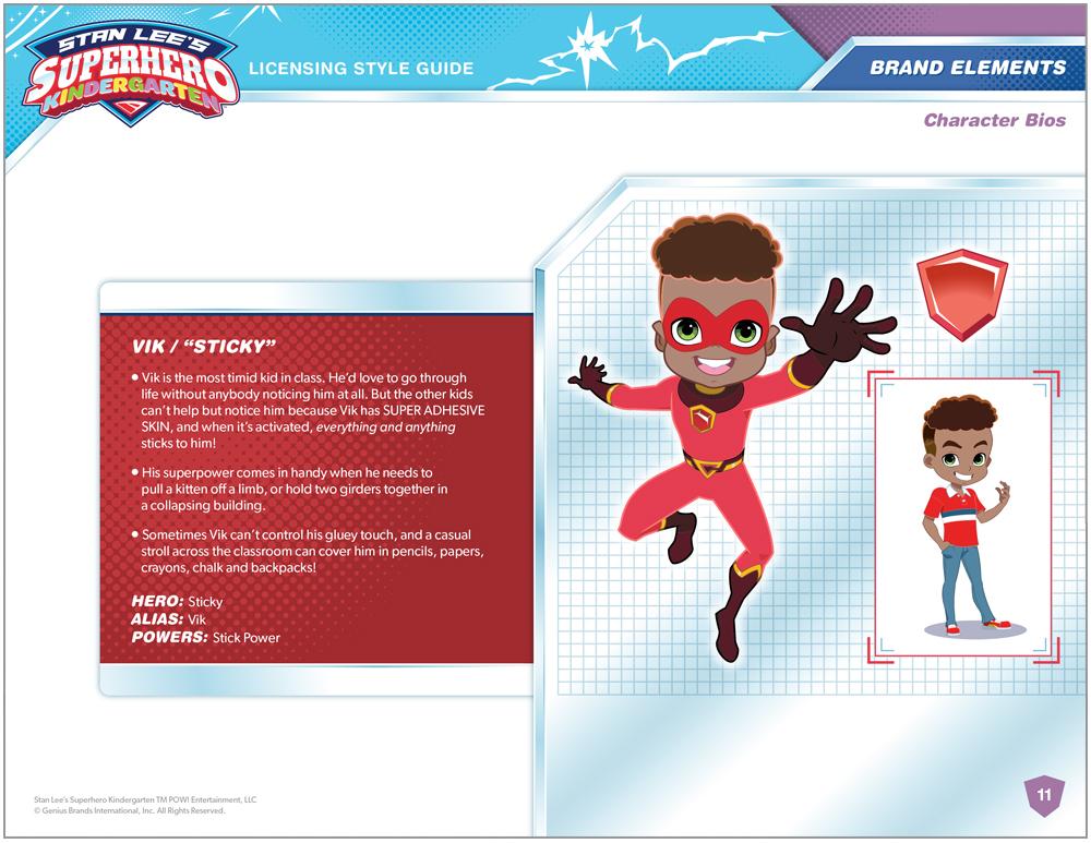 Stan Lee's Superhero Kindergarten Style Guide - Page 7