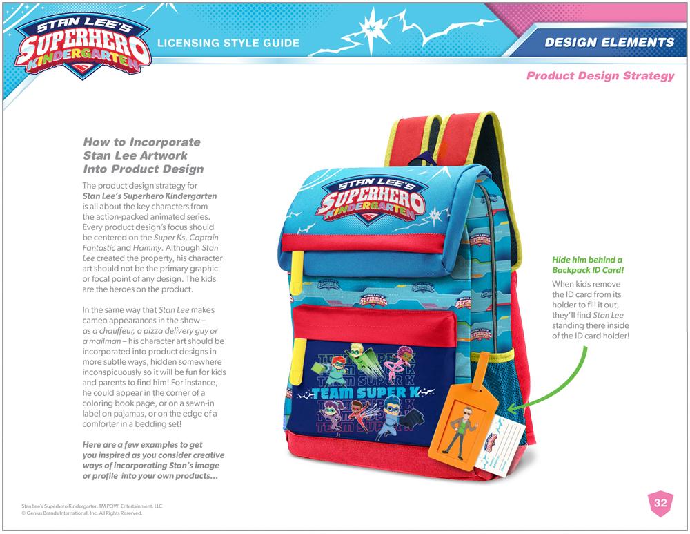 Stan Lee's Superhero Kindergarten Style Guide - Page 13