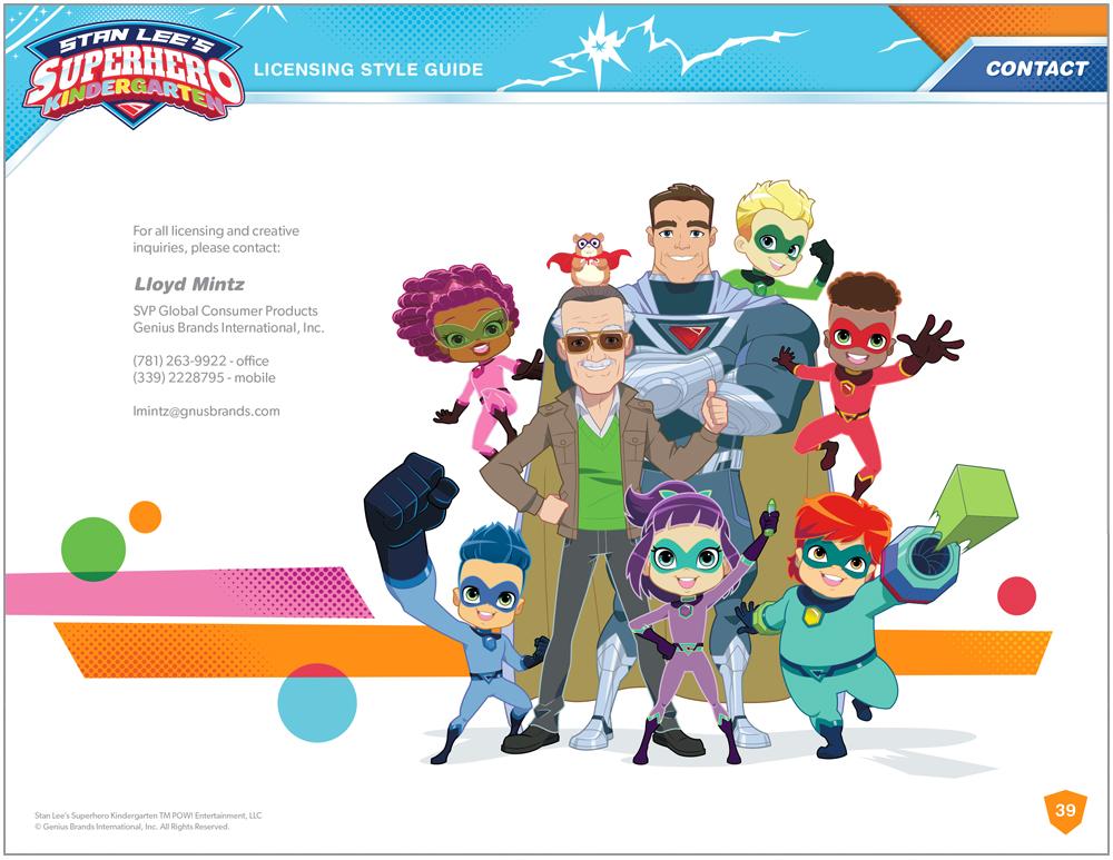 Stan Lee's Superhero Kindergarten Style Guide - Page 16