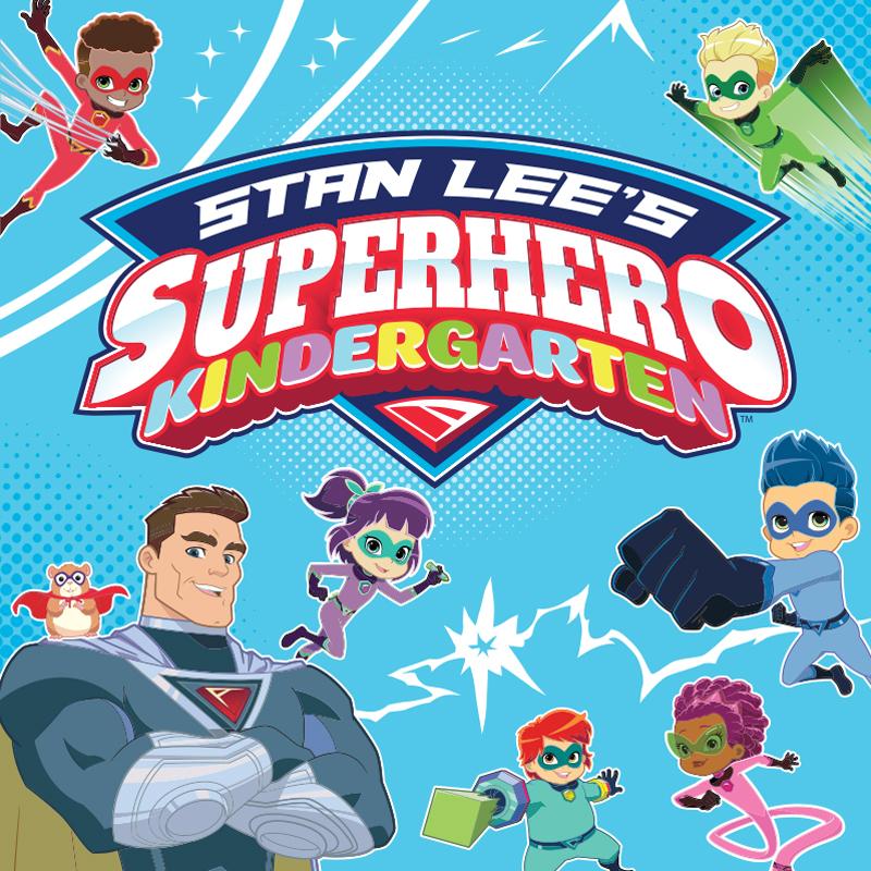 Stan Lee's Superhero Kindergarten style guide thumbnail